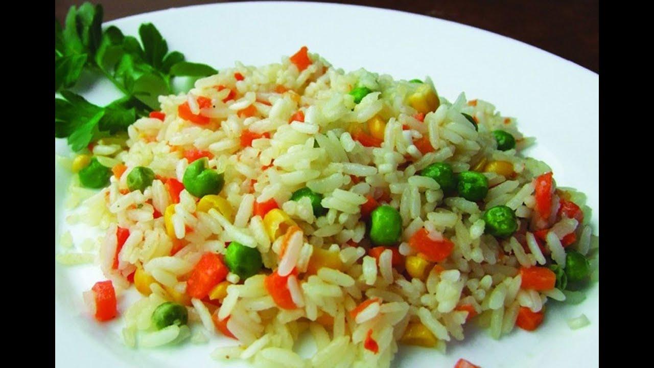 Рецепты с рисом и овощами рецепты