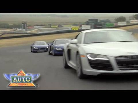 Audi R8 V10 at Infineon Raceway Video
