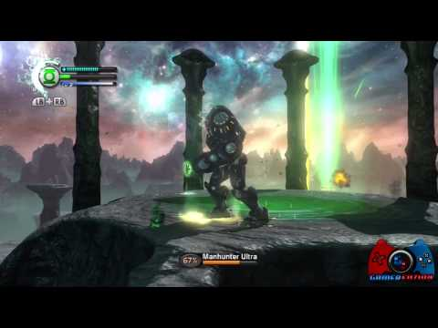 Green Lantern Rise of the Manhunters Walkthrough Part 3 (XBOX 360, PS3, 3DS, WII, DS)