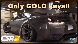 CSR Racing 2 - Opening only GOLD keys - Episode 5