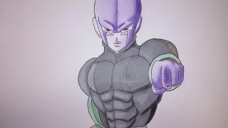 Como dibujar a HIT de DRAGON BALL SUPER /How to draw HIT from DRAGON SUPER BALL