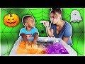 DJ Makes Magic Halloween Slime Johny Johny Yes Papa