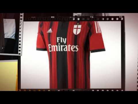 AC Milan Home Shirt 2014/15 by Adidas