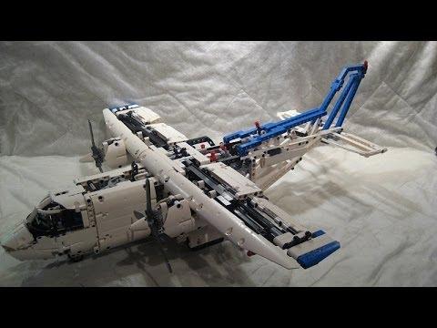 m4x 39 s creations building lego technic 42025 cargo. Black Bedroom Furniture Sets. Home Design Ideas