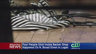 4 People Shot Inside Barbershop In Logan Section Of Philly