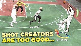 I think pure shot creators are too good in NBA2K19...