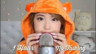 ASMR 1 Hour (No Talking!) Blue Yeti Tapping Scratching ♡