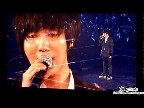 2012.02.18 Super Junior Super Show 4 Singapore Day 1 - Yesung Solo - One Man<br /> <br /> Pls do not remove the