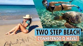 Férias no Havaí - Two Step Beach e o centro de Kona
