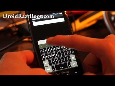 How to Get Free Wifi Tether/Mobile Hotspot on Rooted Droid Razr!