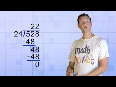 Math Antics - Long Division with 2-Digit Divisors