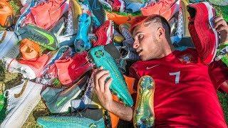 5000€ en BOTAS de CRISTIANO RONALDO (Mi Colección de Botas de Fútbol)