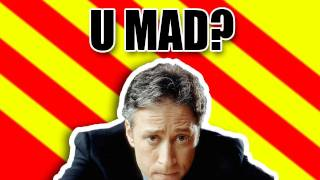 JON STEWART GETS MAD!