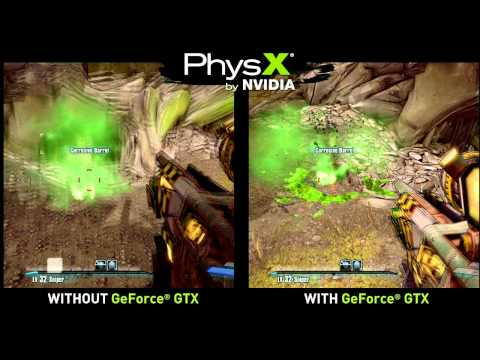 Borderlands 2 - Highest settings on a GeForce GTX
