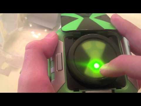 Ben 10 Omniverse Omnitrix Touch Unboxing!