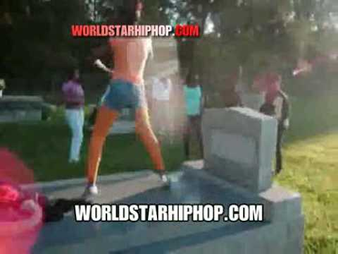 Dead Wrong  Teens Booty Shaking On People's Graves All In The Cemetary! video