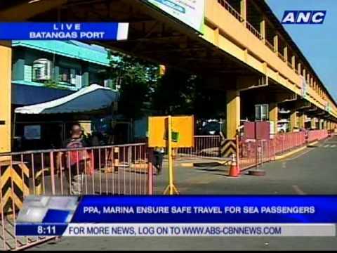 PPA, Marina ensure safe travel for sea passengers