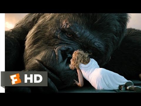 King Kong (1010) Movie CLIP - The Fall of Kong (2005) HD
