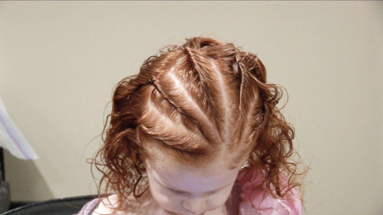 Twist Rows // Corn Rows like hair // Cute Girls Hairstyles ...