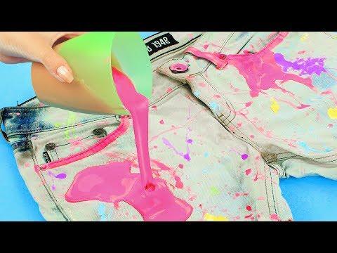 7 лайфхаков по покраске и декору одежды