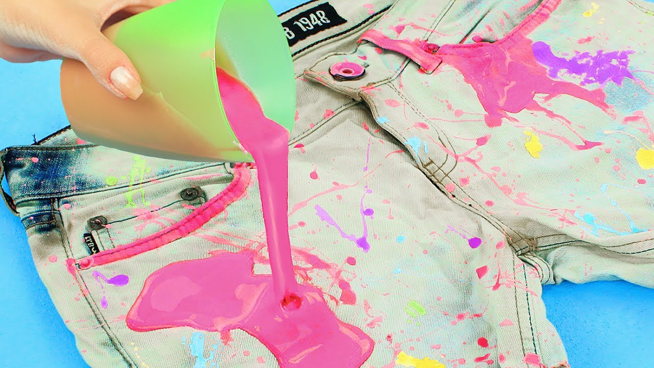 Чем покрасить рюкзак в домашних условиях 853