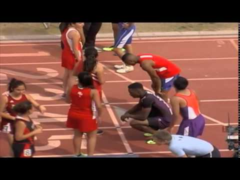 Isak Washington Track 2014 Americas High School, El Paso, Tx