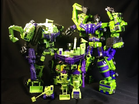 Maketoys Giant vs TFC Hercules Part 7: Devastator