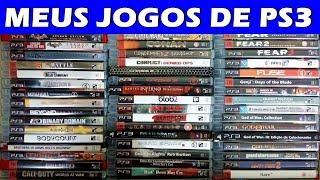 Meus Jogos de PS3 - 2017 - Mais de 200 jogos (PT-BR)