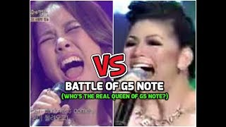 Regine Velasquez VS So Hyang - Battle Of G5 Note (Who's the REAL QUEEN OF G5 Note?)