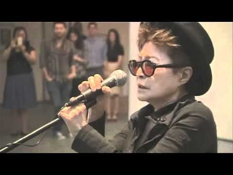 Yoko Ono Screaming at Art Show! (Original)