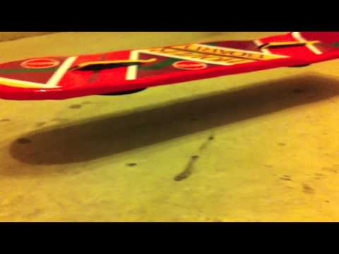 Building and test flying my Hoverboard