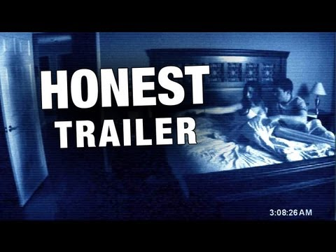El trailer honesto de la película Paranormal Activity