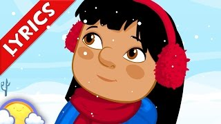 I Want to Build a Snowman! + Lyrics | Christmas Songs for Kids | CheeriToons