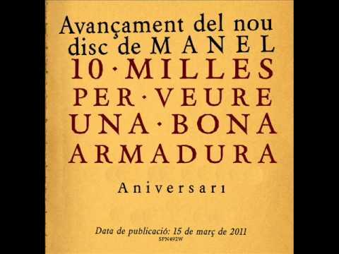 Manel - Aniversari