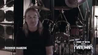 KINGS OF METAL  MMXIV - Interview with MANOWAR Drummer Donnie Hamzik