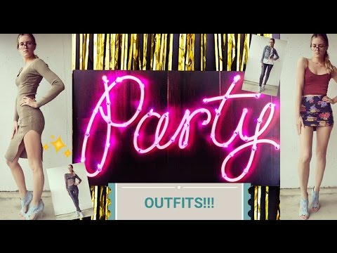 Clubbing Outfits Lookbook (Featuring Leather Pants & Dresses) thumbnail