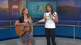 """AJ Lee on """"Bay Area People"""" KTVU FOX 2"""