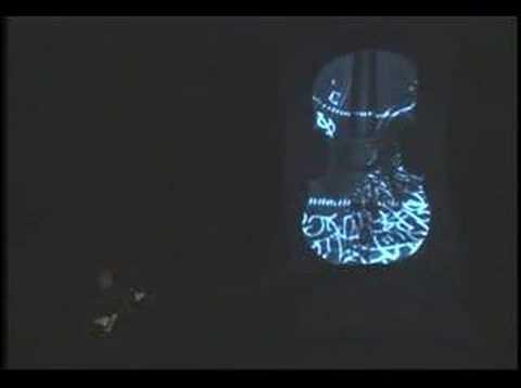 Violin Futura in Santa Fe with Digital Motion Art