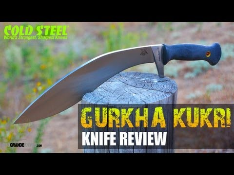 Cold Steel Gurkha Kukri Plus Review   OsoGrandeKnives
