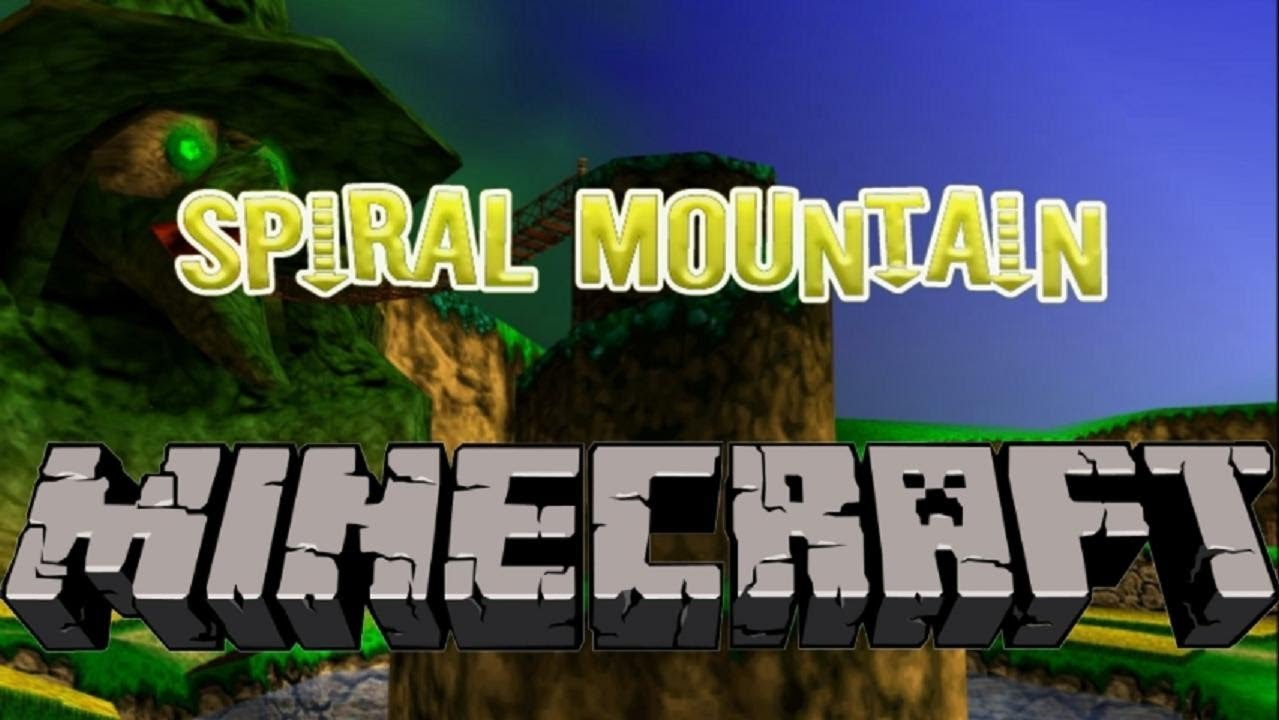 Minecraft Creation - Spiral