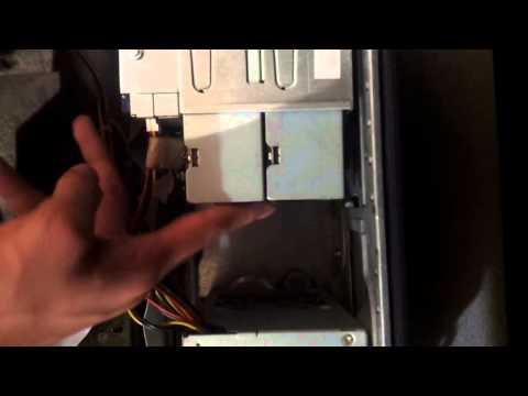 Ordenadores: Cómo instalar la unidad de DVD - instalar el lector de DVD en un ordenador
