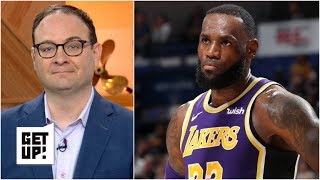 Lakers' dysfunction may protect LeBron down the line - Woj | Get Up!