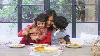 Kanchan Koya's Thanksgiving Leftover Turkey Pot Pie // Presented by Tasty & Google Home Hub