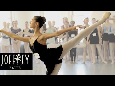 Ballet Auditions Day 1 | JOFFREY ELITE Ep 1