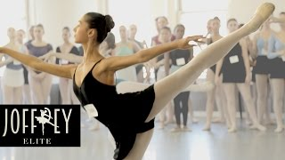 Ballet Auditions Day 1 | JOFFREY ELITE Ep 1