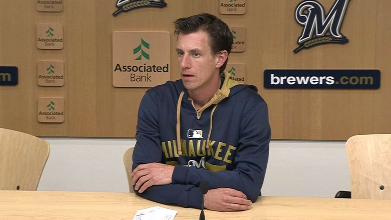ATL@MIL: Counsell discusses Brewers' tough 4-3 loss