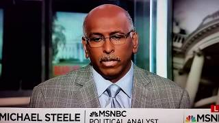 "Michael Steele on the Republicans ""red line"" for Donald Trump"