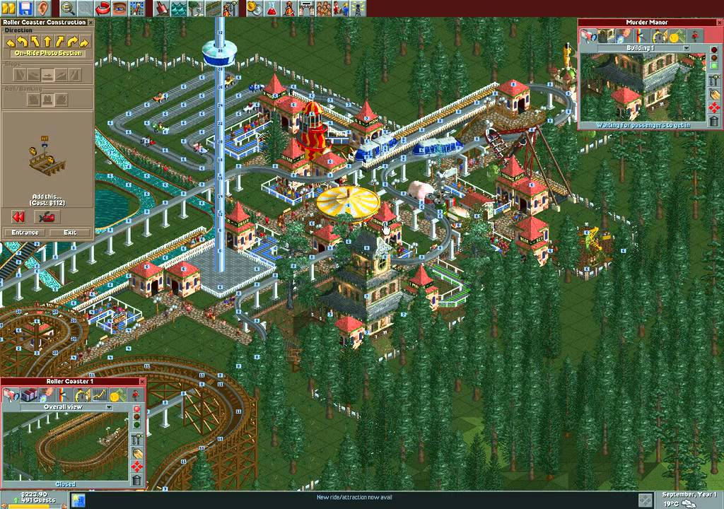 how to buy land in rollercoaster tycoon 3