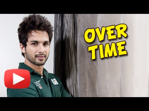 Shahid Kapoor Does Overtime To Finish Work Before Marriage