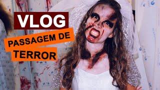 VLOG Halloween - Passagem de Terror | Raquel Torres